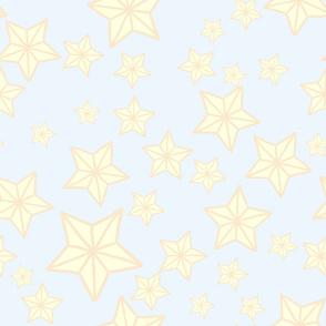 Cream Kawaii Stars