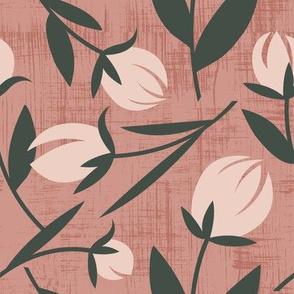 Tulip in Dusty Rose