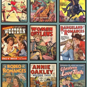 Western Comic Covers