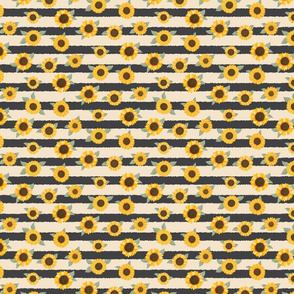 Sunflower Stripes - Sunflower Fields Collection