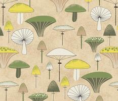 Mid Century Mushrooms