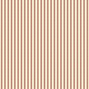 red ticking stripe