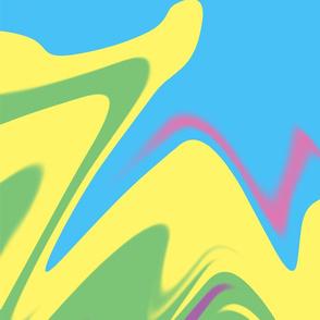 Tie Dye Colorful Pastel Modern