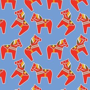 Red Dala pattern