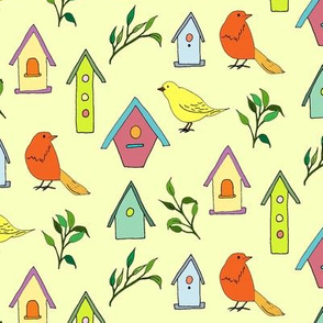 Birds and Houses