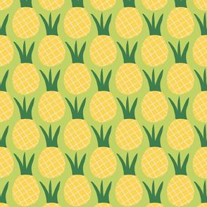 Fancy Fruit: Pineapple Yellow & Green