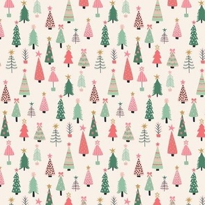 All the Christmas Trees - mini