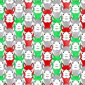 Alpaca pride - classic Christmas