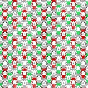 Small Alpaca pride - classic Christmas