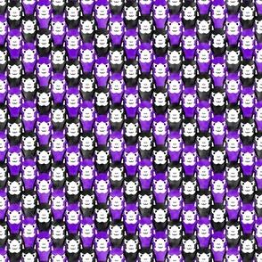 Small Alpaca pride - ultra purple stripe