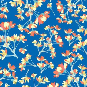 DC Floral Blue