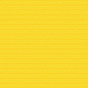 Robot Binary (Yellow)