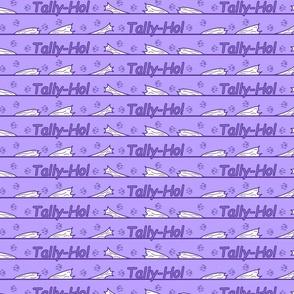 Border Lure coursing tiny Tally-Ho! - purple