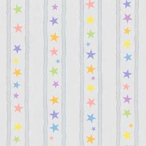 Hippo Workout 'pastel rainbow' coordinating stars