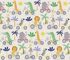 safari bike ride