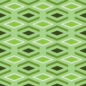 geometric tribe | palm green