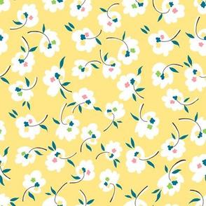 Confetti Flowers - Yellow
