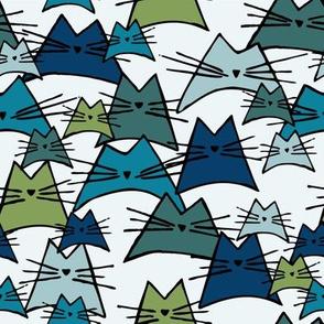 cats - nala cat ocean - hand-drawn cats