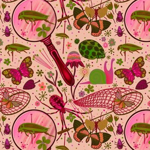 Bug collector pink