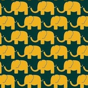 O A elephant