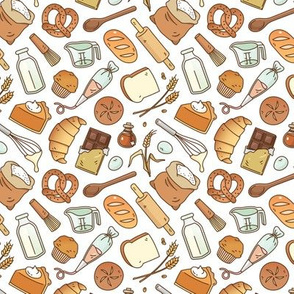 Bakery Essentials Pattern, Small Scale