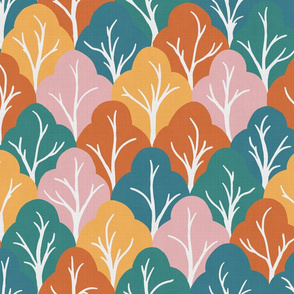 forest for the trees - linen