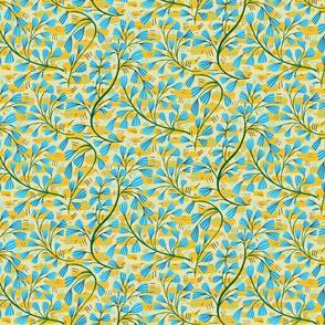 Bell flower yellow