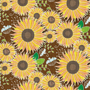 Be My Sunshine for Fall - large scale