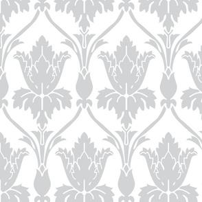Sherlock Inspired Wallpaper in Silver