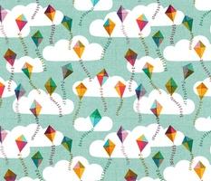 Flying Kites {Sky}
