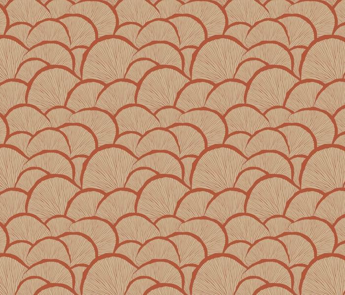 Mushrooms_in_Red_Vector_Repeat_Pattern
