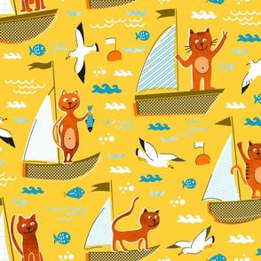 Cats in regatta