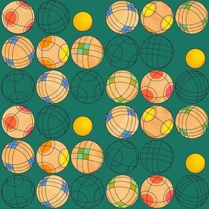 Bright Bocce Balls
