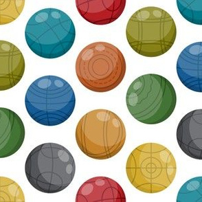 Bocce Ball (Lawn bowling) | Colorful (small)