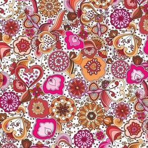Sowing the Seeds of Love-Pink and Orange