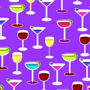 Cocktail Party - Purple