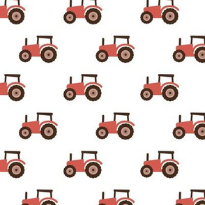 Super cool kids tractor farm truck country side adventures moody red