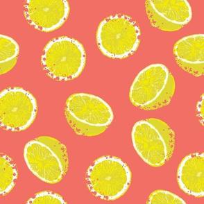 Lemons Bright Textured