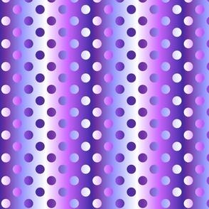 Grande purple in purple gradient dots