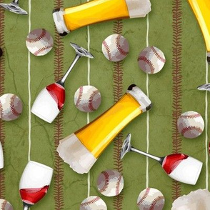 Baseball & Booze ©Julee Wood