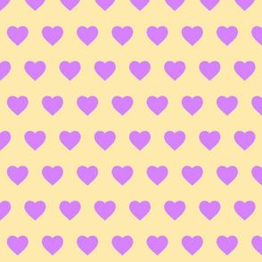 Lemonade & Lavender Hearts (small)