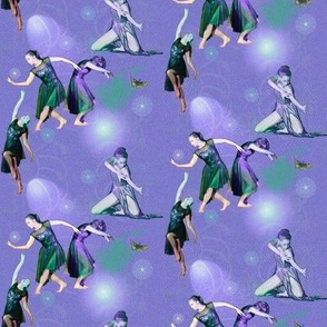Small Size Lavender Facets of Modern Dance