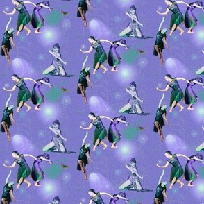 Tiny Size Lavender Facets of Modern Dance