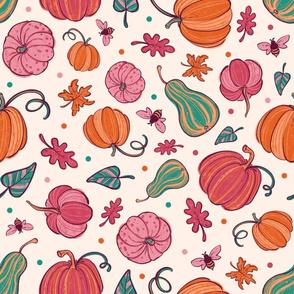 Pink Festive Pumpkins