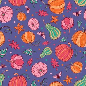 Pink Festive Pumpkins 2