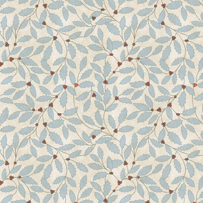 Bella Nora Delicate Holly pattern