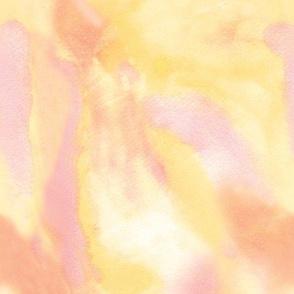 Orange Sherbet Watercolor