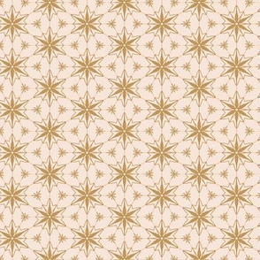 Ornament stars in blush 2.31x2.31