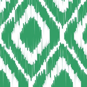 Ikat-Kelly green