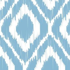 Ikat - Sky blue